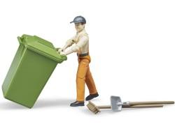 Zabawka Figurka pracownika komunalnego II