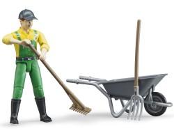 Zabawka Figurka rolnika