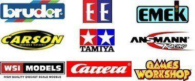 logo Bruder Tamiya Emek Carson DoubleEagle WSI-MODELS GamesWorkshop Ansmann