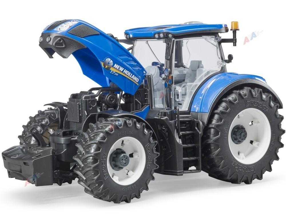 bruder 03120 traktor new holland. Black Bedroom Furniture Sets. Home Design Ideas