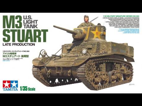 1/35 US Light Tank M3 Stuart Late Tamiya 35360