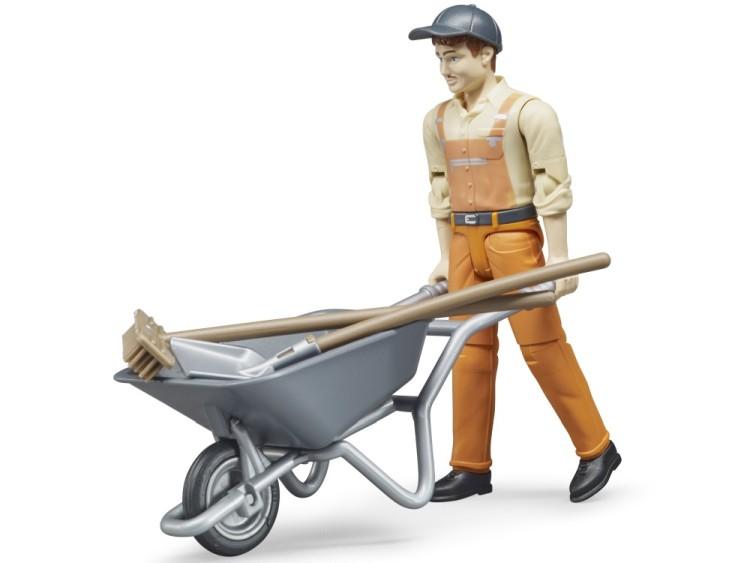 Zabawka Figurka pracownika komunalnego