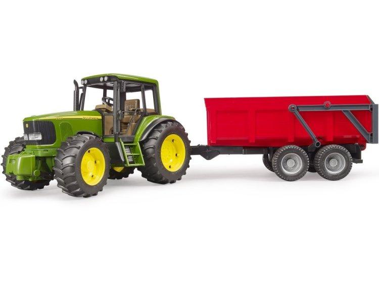 Zabawka Bruder 02057 Traktor John Deere 6920 z przyczepą wywrotką