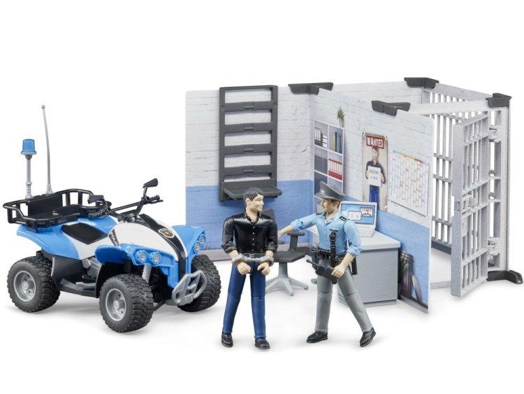 Zabawka Bruder 62730 BWorld Komenda policji