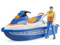 Zabawka skuter wodny z figurką foto 4